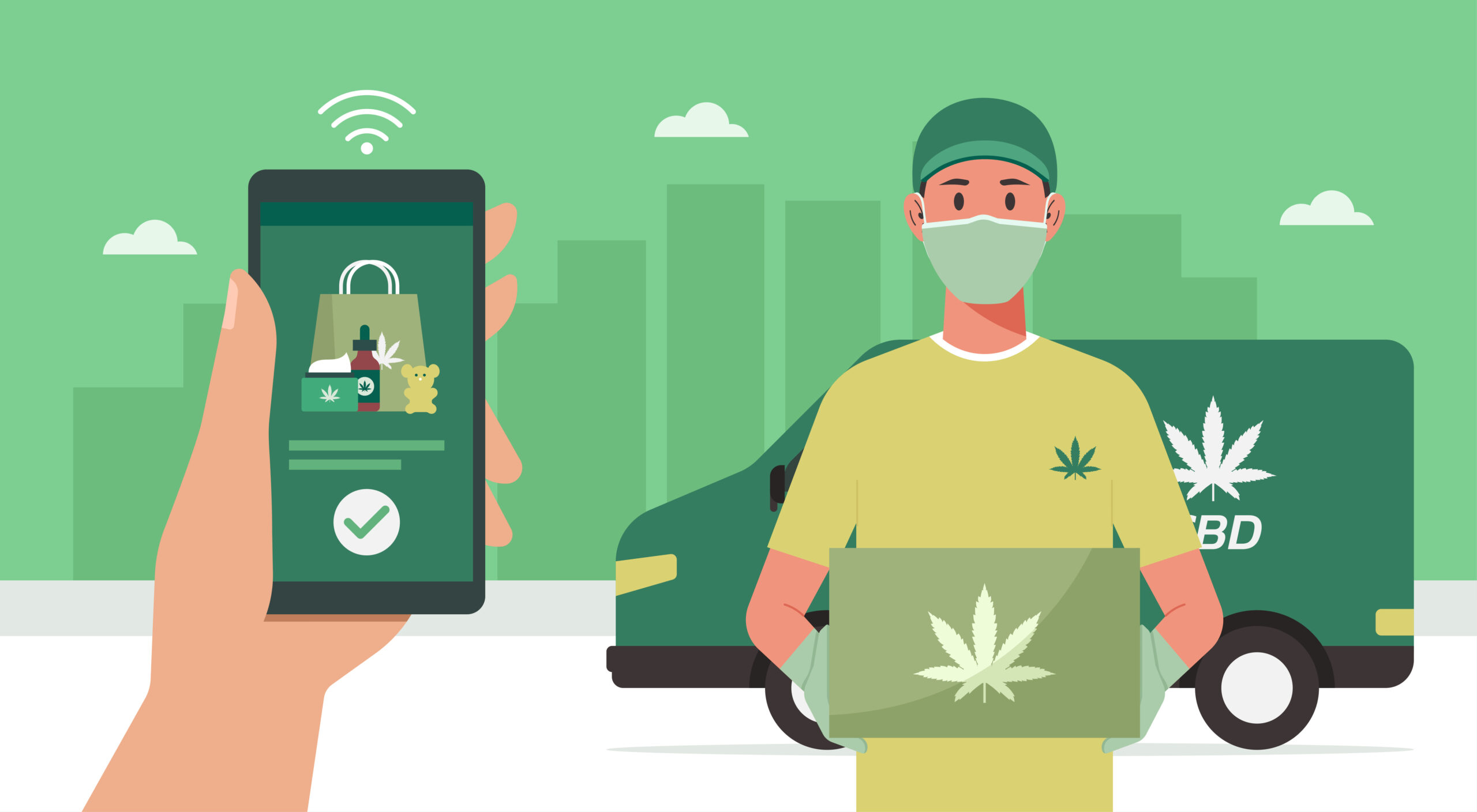 Why is Weed Delivery in Toronto Surging?